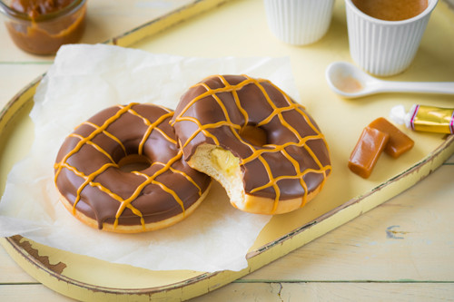 Caramel Creampudding - Donuttello Donuts